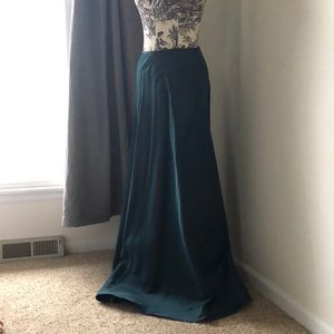 Emerald Green RALPH LAUREN Long Skirt